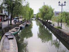 柳川城の掘割が今も街中を縦横に走る水郷・柳川。