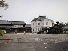 柳川藩主立花邸 料亭旅館 御花  私が訪問した時はコロナウイルス感染防止の為休業中でした。
