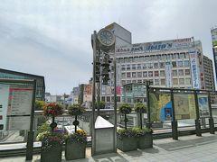 小田原には、10時到着。集合時間の13:30まで、3時間半のショートトリップです。写真は、小田原駅東口。写真の右方向に、お城があります。