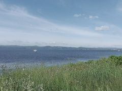 サロマ湖の美しい眺めです。