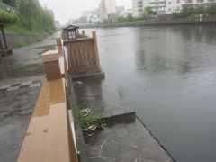 水面結構高いです ちょっと大雨になったら溢れそう