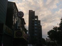 ホテルシェヌーに2泊しました。 大安駅から歩いたと思います。