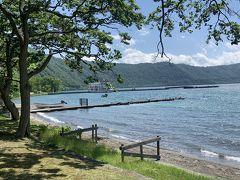 奥入瀬渓流の始まりの十和田湖。