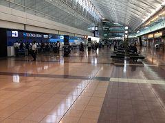 羽田空港はまだまだ自粛