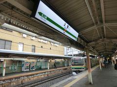 10:50 上野から35分。 上尾に到着。 高崎行の普通列車に乗っていましたが‥