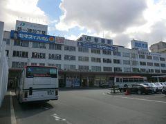 13:09 萬代島ビルから 新潟駅に着きました。  昭和38年完成の新潟駅万代口駅舎。 新潟の象徴でしたが、高架化再開発で解体されます。 これで、見納めだ。