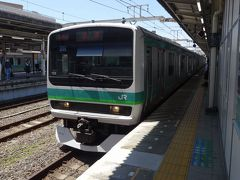 我孫子で、成田線に乗り換えです。