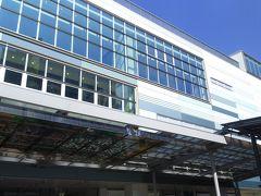 熱海駅にやって来ました。  ここからスタートです。