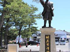 仏の茂助、豊臣中老のひとり松江藩祖堀尾吉晴像