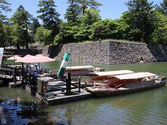 ぐるっと松江堀川めぐりの乗船場  以前乗船したことがあるので今回は密を避けるためにパスしました。