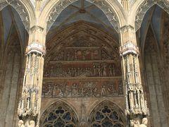 ウルム大聖堂 Ulmer Münster  入り口の装飾。