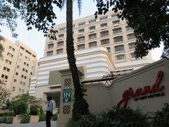 食後、連泊の「グランド チェンナイ バイ GRT ホテルズ」に戻ります