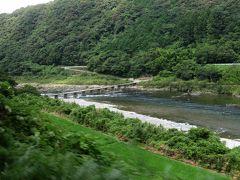 四万十川にいくつもかかる沈下橋。