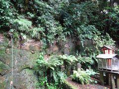 ここが不動の滝、名前は立派ですが滝とは言えないかわいい物です。 知識なく行ったもので、不動の滝はどこと探しまくりました((+_+))