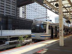 相鉄新線に初乗車するために、湘南新宿ラインに乗って武蔵小杉駅へ来ました 相鉄線直通電車は、1時間に朝夕4本、それ以外2本と少数勢力 ここで25分の待ち時間となりました 横須賀・総武快速線のE217系です 今年からE235系1000番台が投入され、徐々に減っていくんですね 私の記憶では、二枚窓の70系、貫通型の111・113系に続く車両