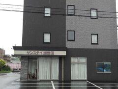アクセスのよいサンステイホテルに宿泊しました。