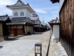 メインストリートの城之門筋は「日本の道100選」のひとつです