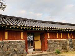 「済州民俗村」は朝鮮時代末期である1890年代の済州島の