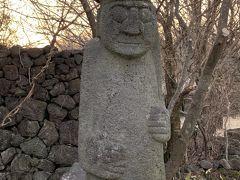 トルハルバン   がお出迎えしてくれた  「済州特別自治道民族自然史博物館」