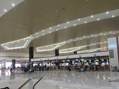 エアポートホテルからは程近いコーチン国際空港です