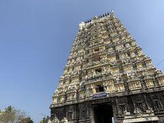 続いてエーカンバラナータル寺院。嗚呼!またゴープラム!と早くも膨満感、でもここから先は別世界でした。