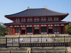 ●興福寺@奈良公園界隈  長年、何か工事をしているな…と思ったら。 これだったのですね! 金色堂です。 平成30年に見事に復興した金色堂。 過去に7度の火災にあい、1717年の火災以降、仮堂のみにとどまっていましたが、約300年振りに復興しました。 これは、中に入る価値、ありそうですね。 また後日、改めて。