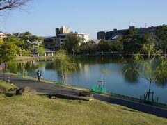 ●猿沢池@興福寺界隈  猿沢池には、桜の気配はなしですね。