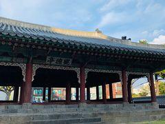 まずは  歩いて  ホテル近くの  「観徳亭」から 観光スタート (^^)   昼間より、夜の   ライトアップ の方が
