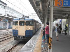 ★12:00 そして上田駅で新幹線を下車。この後すぐに、見逃せないシーンが見られるということで、急いでしなの鉄道ホームへ。