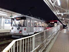 宮の坂駅で軽く世田谷線の撮影をした。 後ろの電車は上町行きだった。