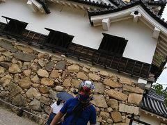 彦根城に到着です!バイク専用の駐輪場もありますよ!※有料です