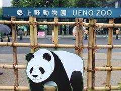 上野動物園の正面入口の外側です。6月23日から再び開園しました。