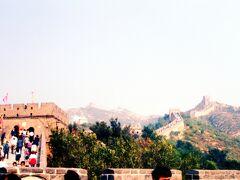◆到着  12:30長城に到着。