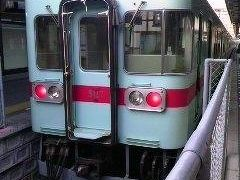 大牟田駅でJRから西鉄の特急に乗り換えました。