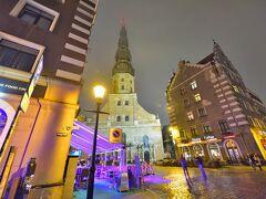 ~聖ペテロ教会~ あいにくの雨でしたが、それが幻想的な雰囲気を際立たせてくれました。