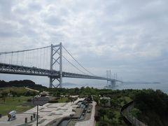 広島を8時過ぎに出発・・・年齢を重ねた分だけ車のスピードはゆっくりで、10時前に瀬戸中央自動車道「与島PA」に到着、最近の梅雨のお出かけは四国がメインですが、今年も四国は曇っていますが雨は降っていませんでした。