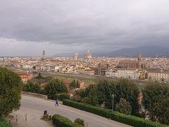 ミケランジェロ広場から見たフィレンツェの全景