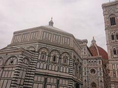 サン・ジョヴァンニ洗礼堂 天井のモザイク壁画が何よりも有名です。
