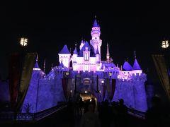 お城も夕闇に映えます。