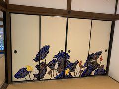 青蓮院門跡へ。 色鮮やかな襖絵です。