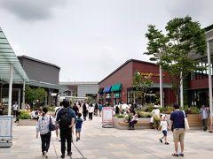 駅を出ると、なんとすぐ目の前が南町田グランベリーパーク! 駅近で便利~!
