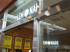 15:40 レモネード バイ レモニカ  ショッピングモールをぐるっとして少々のどが渇いたのでこちらで休憩。