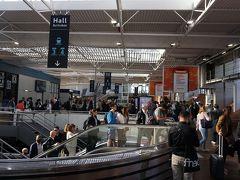 約1時間半の乗車時間で、9時25分にレンヌ(Rennes)駅に着きました。