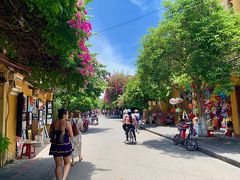 ベトナム、世界遺産の街ホイアン。緑がいっぱいで太陽の光がとても綺麗に感じられました。2019年8月7日撮影