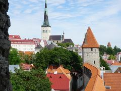 エストニア タリンの城壁