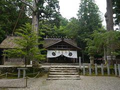 外宮よりも深い森に包まれているためか、より荘厳な印象を受ける皇大神社(内宮)の境内です。
