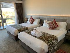クイーンサイズのベッドが2つなので、広々でした。