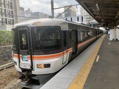 14:15甲府着  14:35発 ふじかわ10号に乗車  16:24 富士で下車 連れは静岡まで乗車
