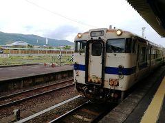 指宿から西大山まで短い距離ですが、普通列車に乗車します。 指宿→山川→大山→西大山の3駅です。