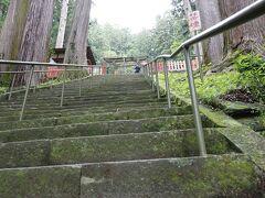 鳳来山東照宮につきました。 「鳳来山東照宮(ほうらいさんとうしょうぐう)は、愛知県新城市の鳳来寺山に鎮座する神社である。正式名称は「東照宮」。日光・久能山と並ぶ三大東照宮の1社を称している。」ウィキペディアより http://www.tees.ne.jp/~horaitosyogu/